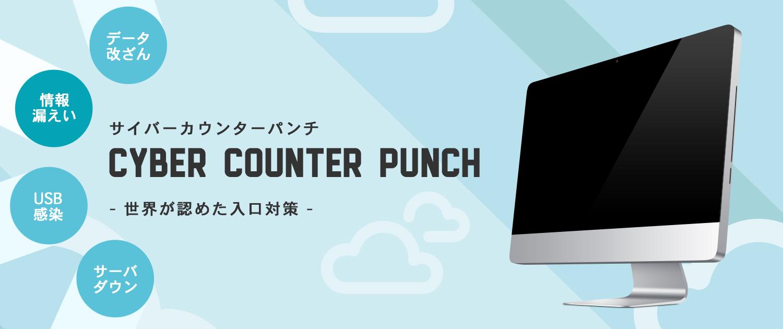 サーバに対する不正侵入検知遮断サービス Cyber Counter Punch (サイバーカウンターパンチ)